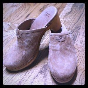 Ugg clog mules